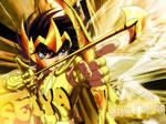 Saint Seiya Gold Knight Wallpaper by Joe