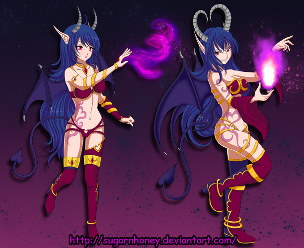 Succubus lv 1+2 by sugarnhoney