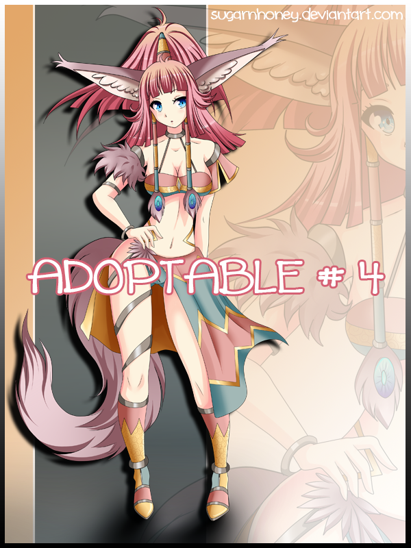 Adopt # 4 AUCTION [CLOSED ] by sugarnhoney
