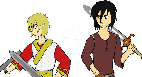 They brought the fight to us! -Kaza and Zain-