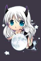commission - chibi demon by Rosuuri