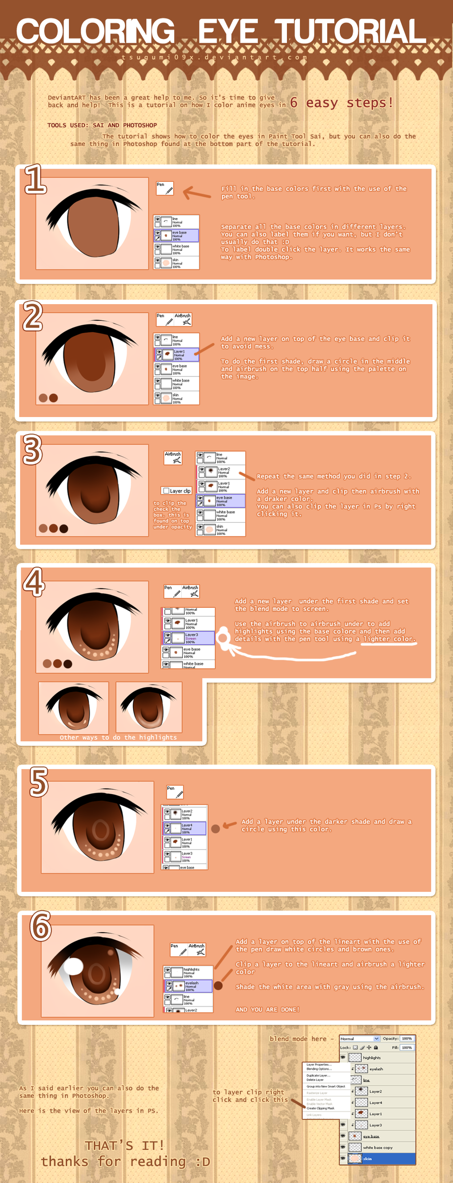 EYE TUTORIAL by Rosuuri
