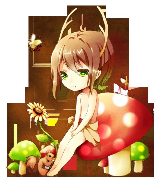 commission-mushroom by Rosuuri