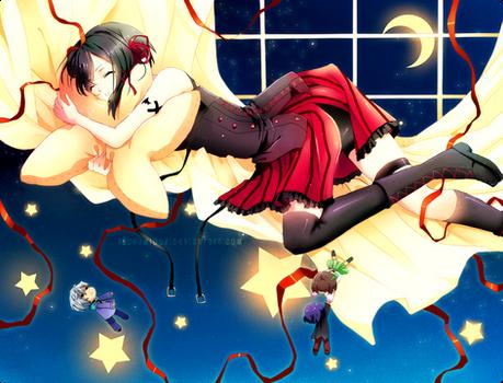 Santa - Starry Night