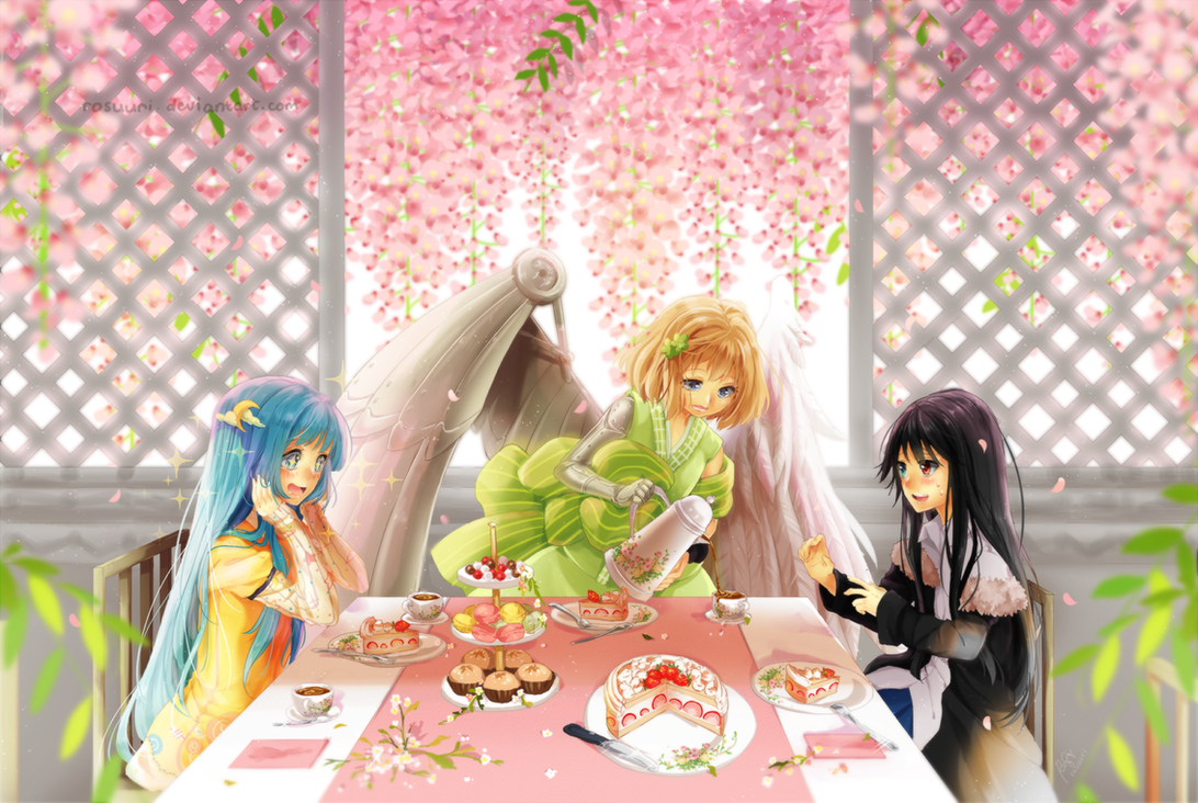 First Tea Party by rosuuri