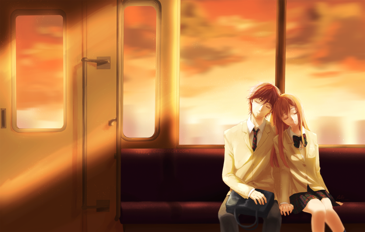 The Crimson Sunset by Rosuuri
