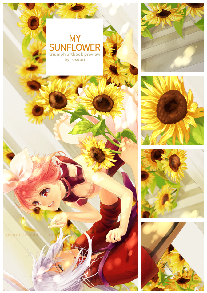 Triumph Artbook - My Sunflower by Rosuuri