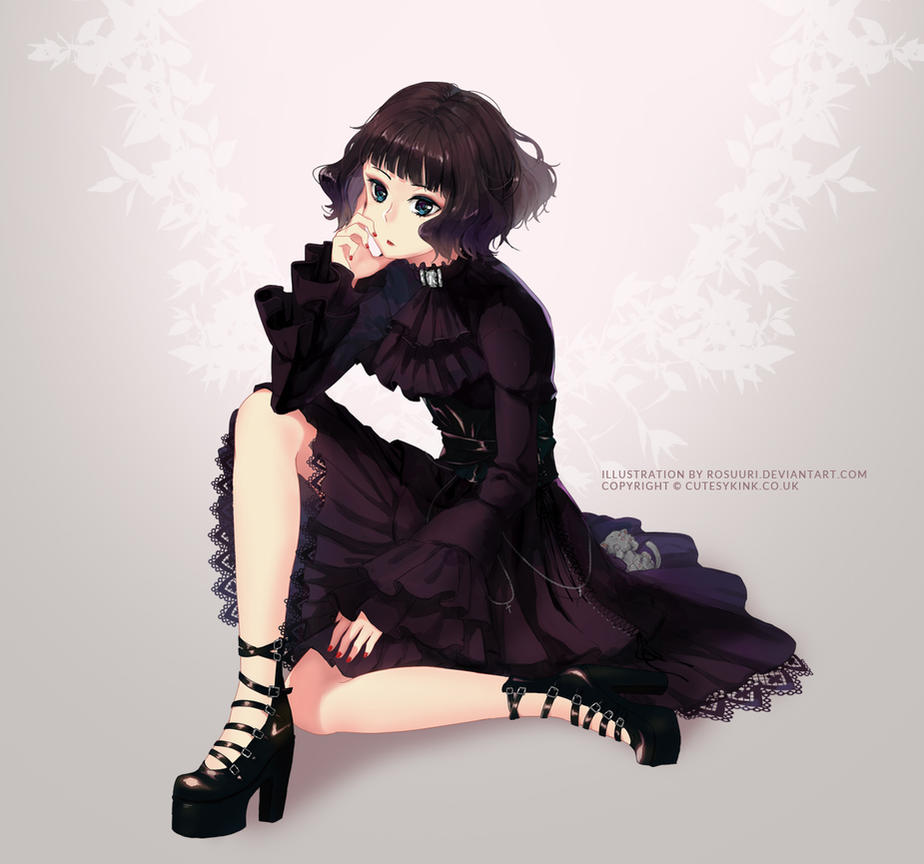 Gothic Japanese Clothes Store