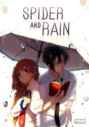 Spider and Rain (Manga Cover) - RESTOCKED