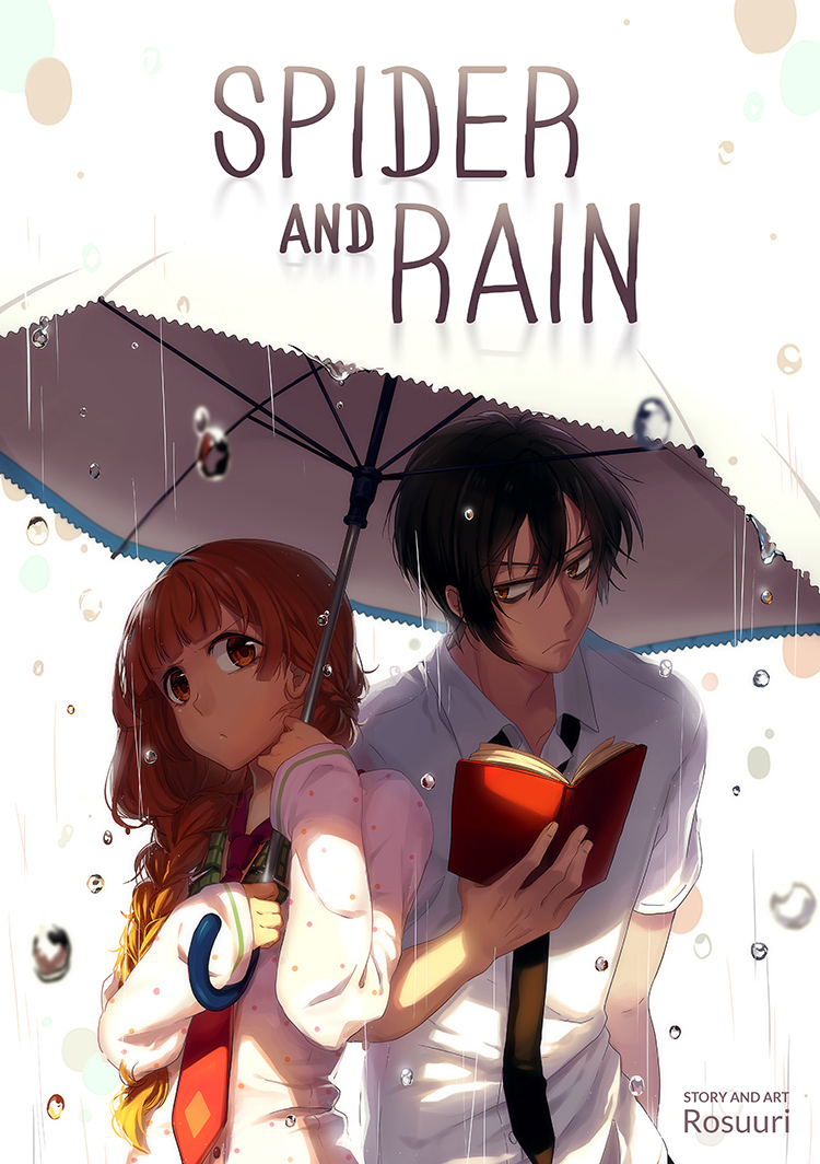 Anime School Book Cover : Spider and rain manga cover restocked by rosuuri on