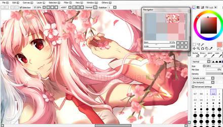 Sakura Miku WIP