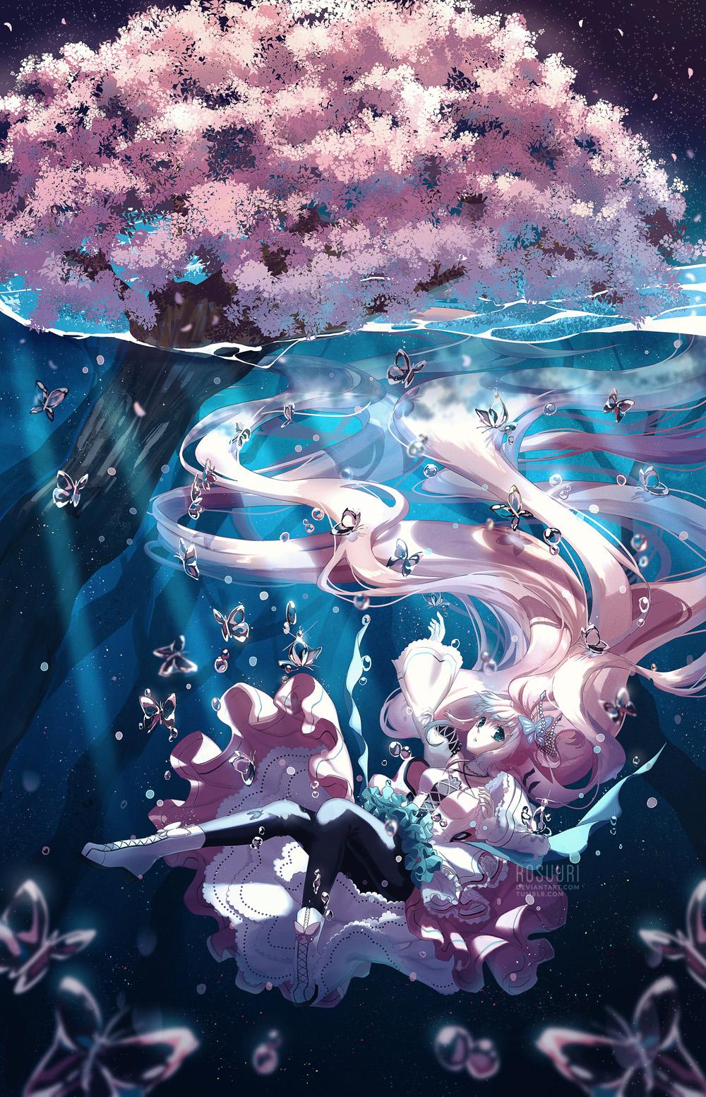 Commission - Underwater Spring
