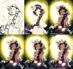 Progress Shots of Rapunzel Nozomi