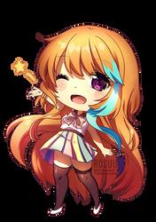 Chibi Seiko for Poptaku by Rosuuri