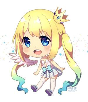 Commission - Anime Club Mascot Chibi