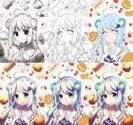 Progress Shots of Tsukino