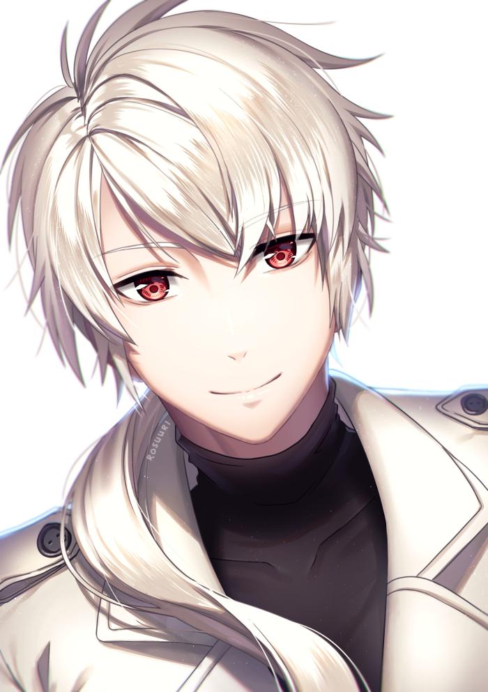 Anime Characters Male Black Hair : Zen by rosuuri on deviantart