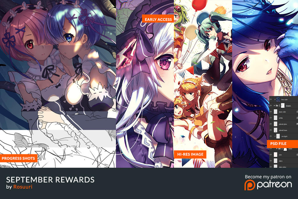 September Rewards by Rosuuri