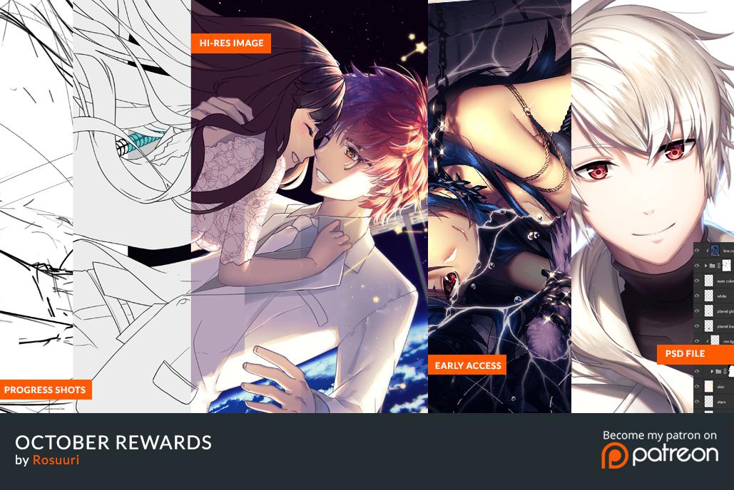 October Rewards by Rosuuri