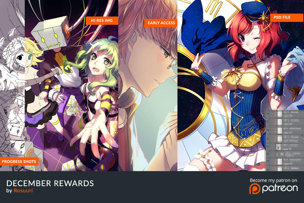 December Rewards Summary by Rosuuri