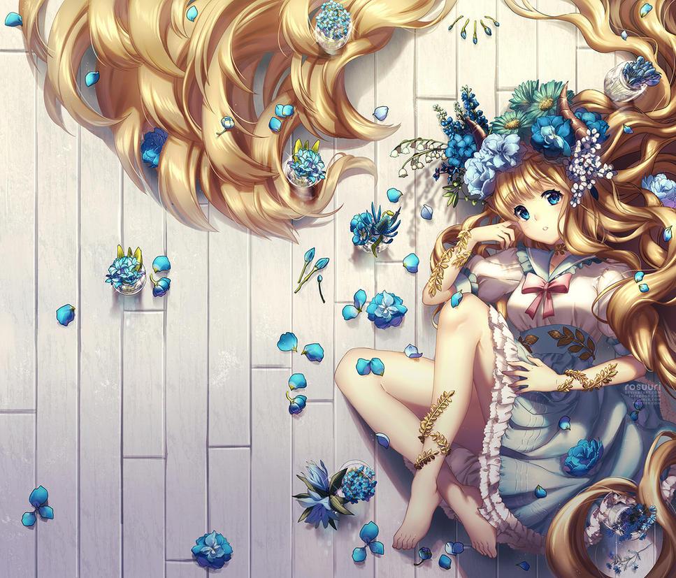 Blue by Rosuuri