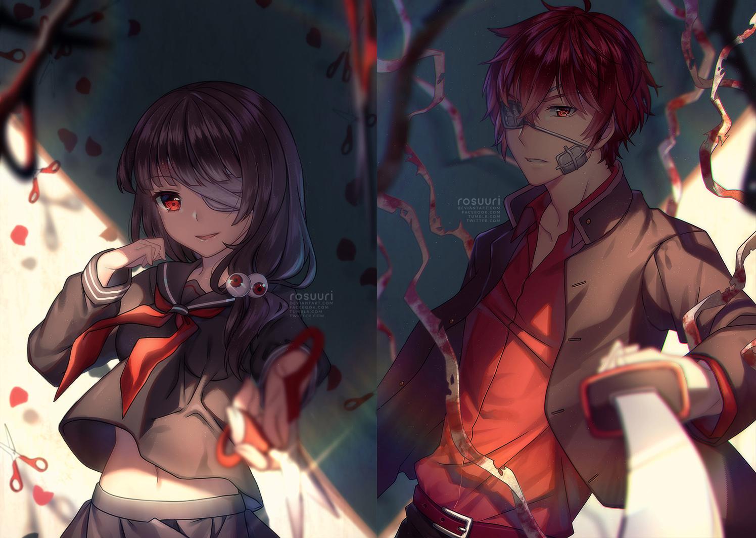 Love Hate by Rosuuri