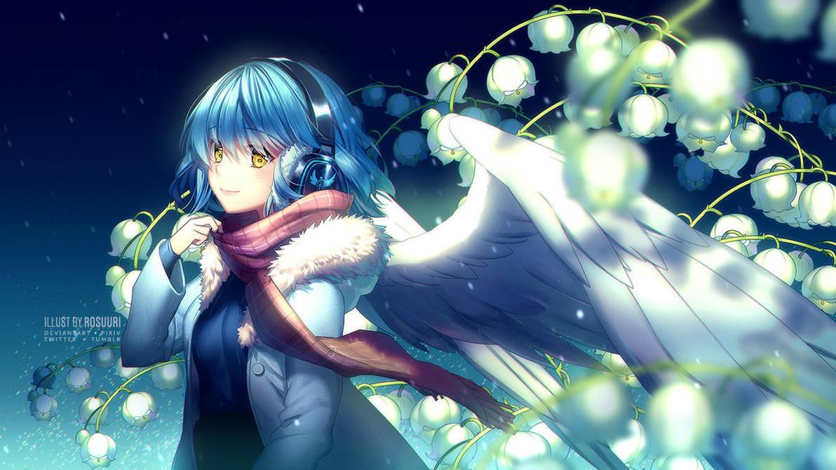 Snowbells by Rosuuri