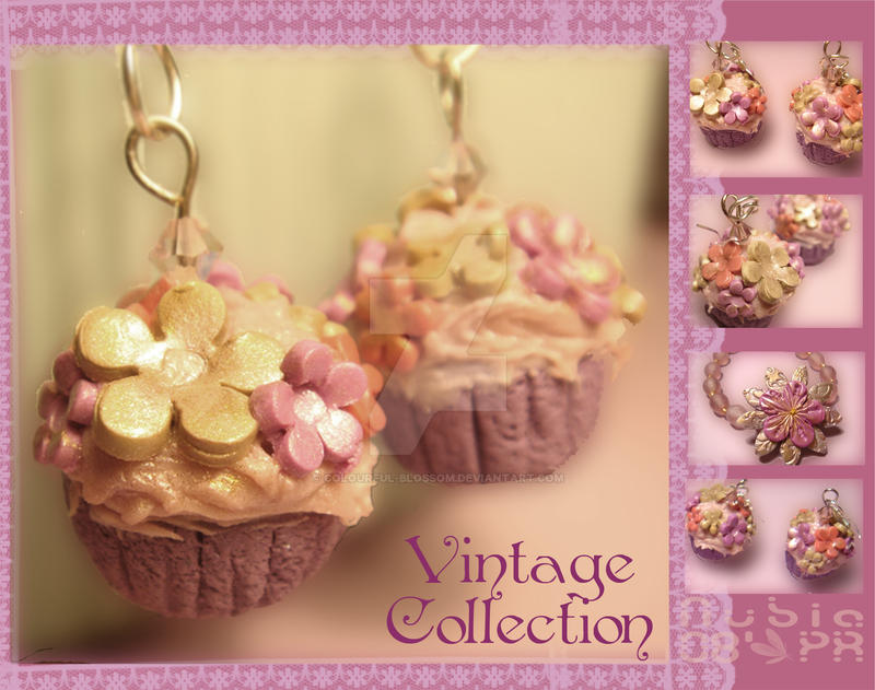 Cupcakes-Vintage Collection by colourful-blossom