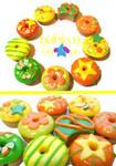 Citrusy Donuts