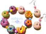 Colourful Donut Set