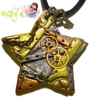 Green Industrial Star by colourful-blossom