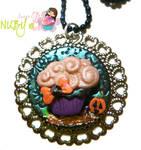Halloween Cupcake medallion