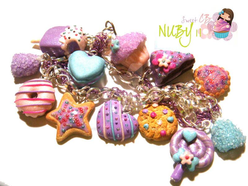 SWEETNESS on a bracelet by colourful-blossom