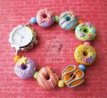 Yummy Pastel Rainbow Watch