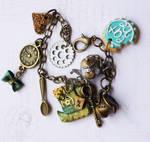 Steampunk Mad Hatter Bracelet
