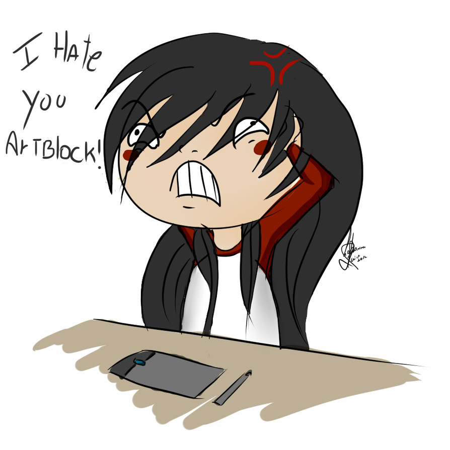 I HATE YOU ARTBLOCK by LOH-CHAN