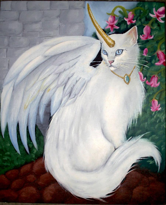 теперь волшебные коты с крыльями картинки выше число