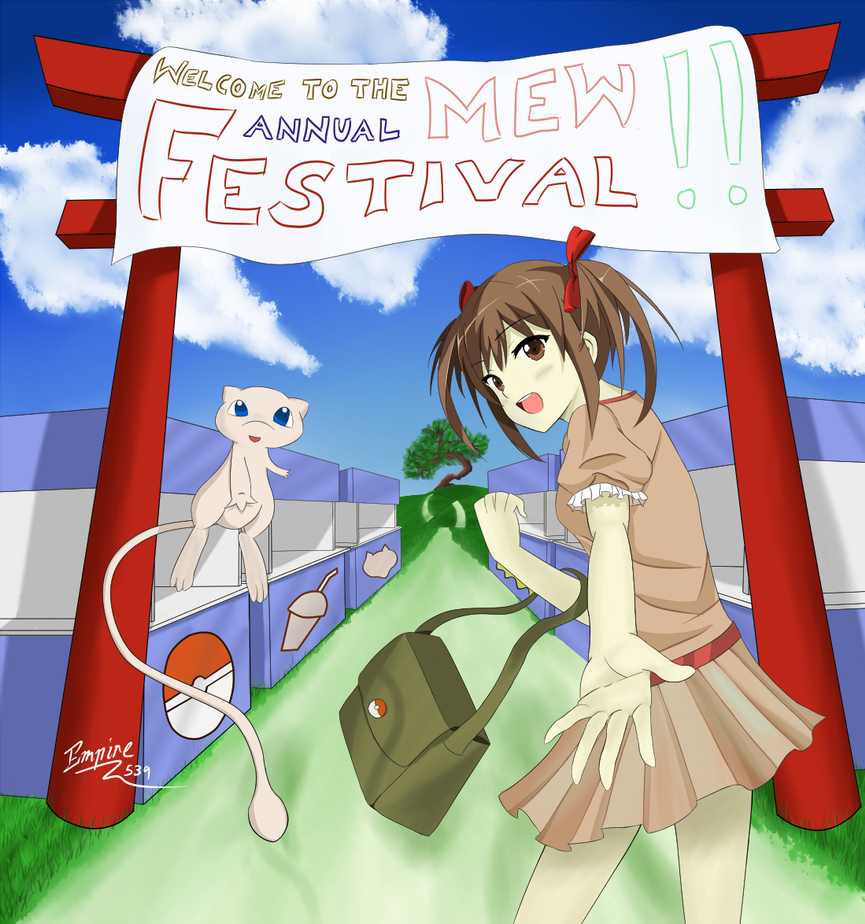 Welcome to the Mew Festival by empire539