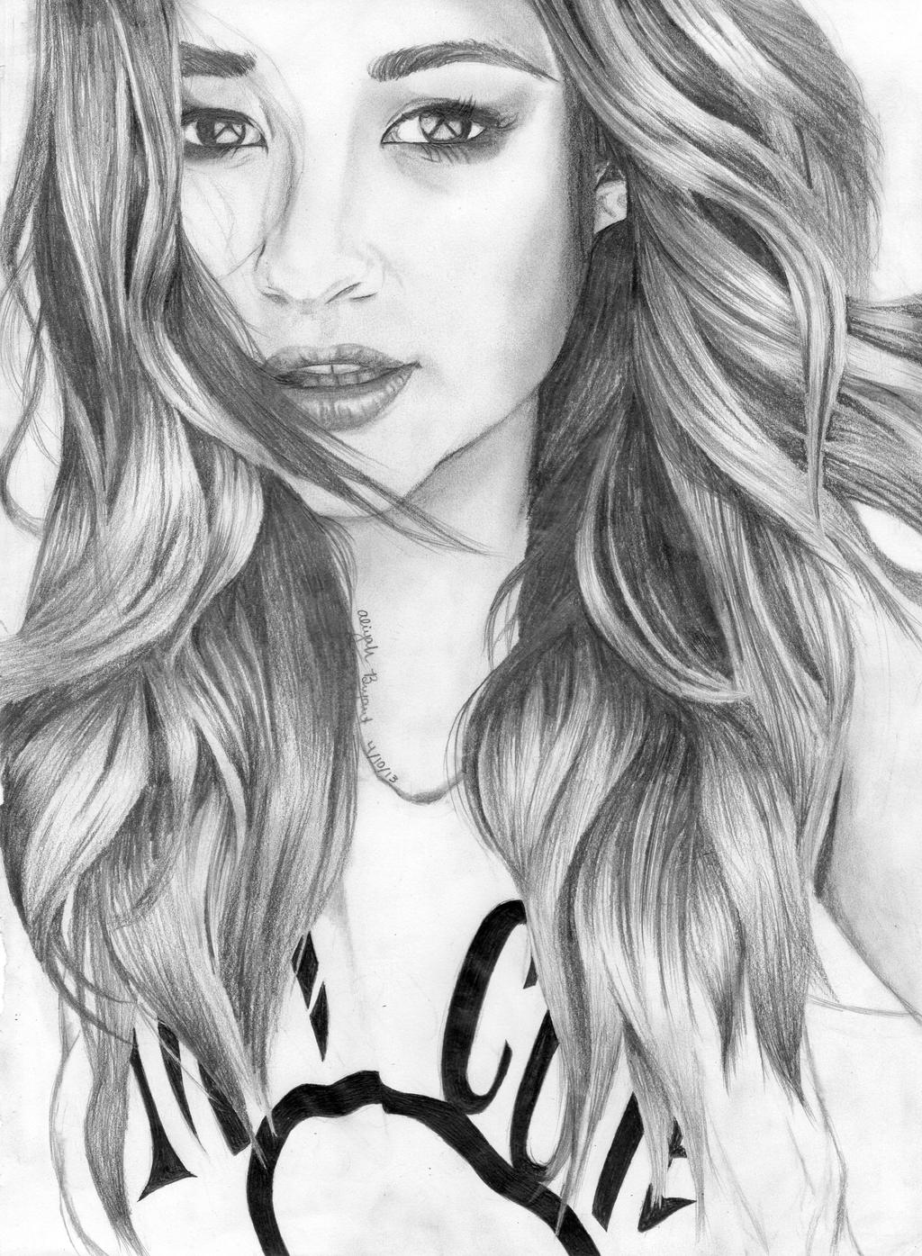 Shay Mitchell Drawing by AmateurDrawer on DeviantArt