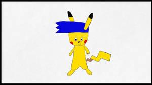 Me as a Pikachu