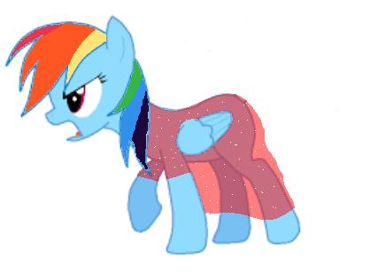 Rainbow Dash (Christmas Dress) by TwiDash-FTW on DeviantArt