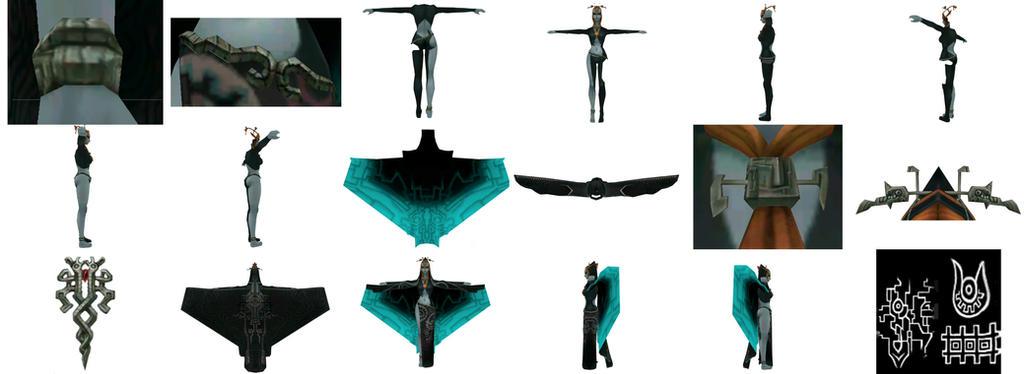 Midna Reference - True form by Stormuna on DeviantArt