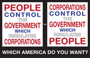 WHICH AMERICA DO YOU WANT? by Crigger