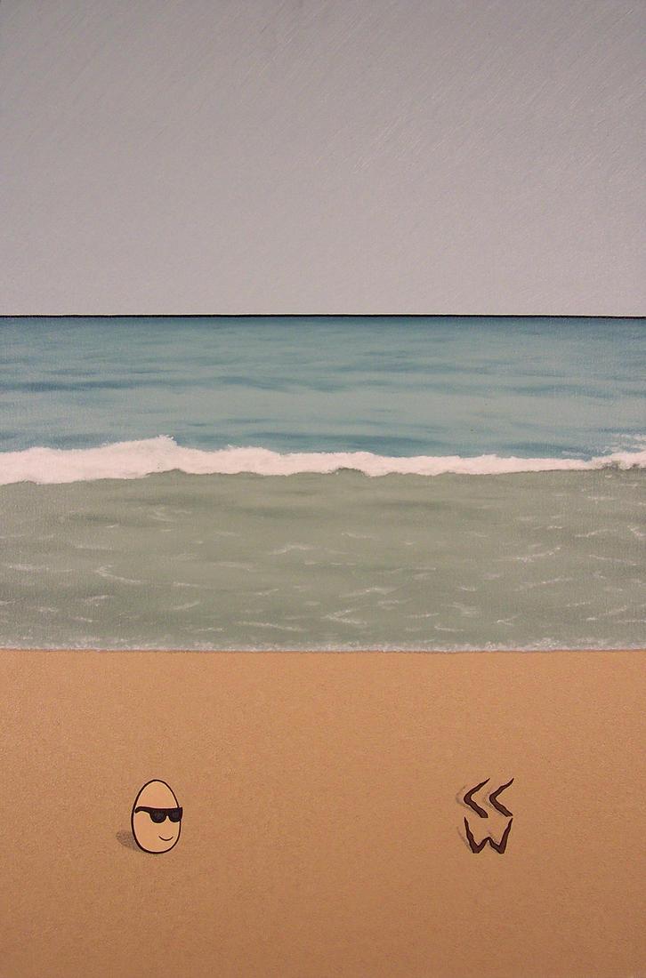Relaxin at da Beach by Crigger