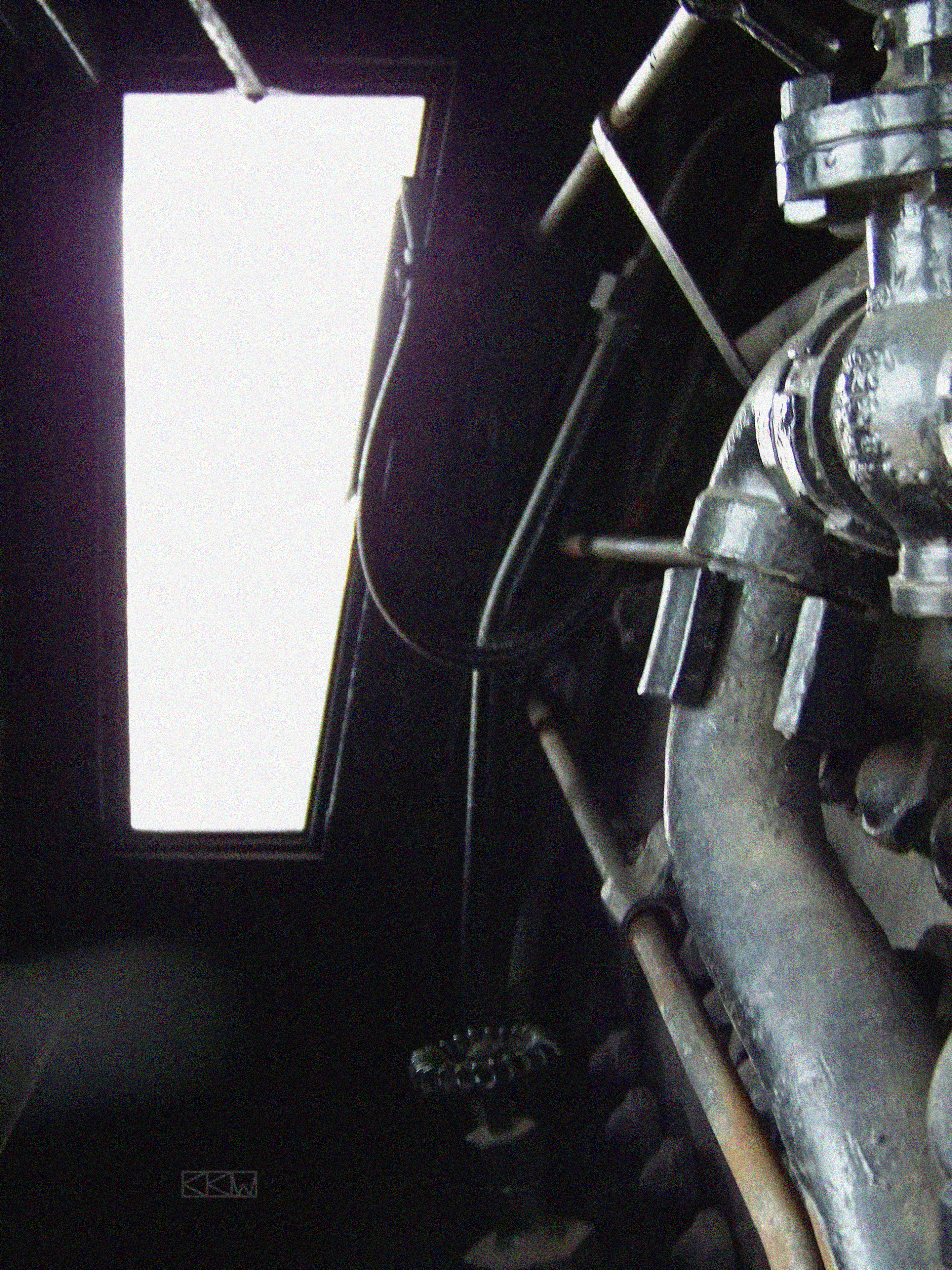 Restored Locomotive No. 2713 by Crigger