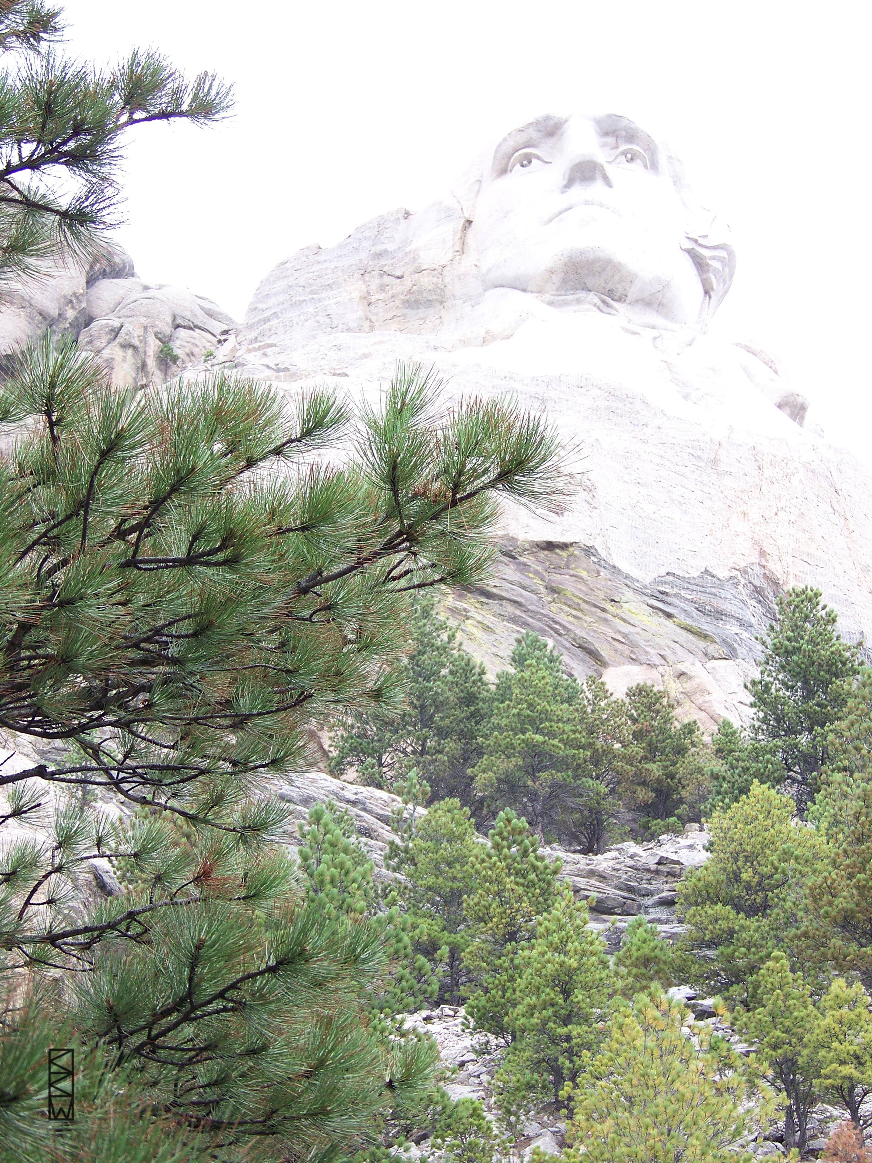 George Washington at Mount Rushmore 08-23-2013 by Crigger
