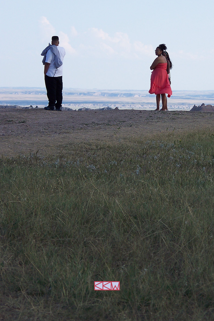 Tourists at Badlands National Pk SD 8/24/2013 5:21 by Crigger