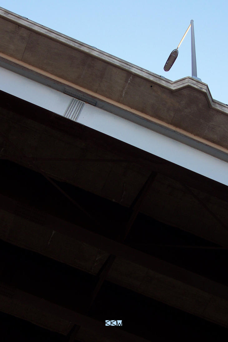 Under the Bridge by Trolley Square, Appleton, WI by Crigger