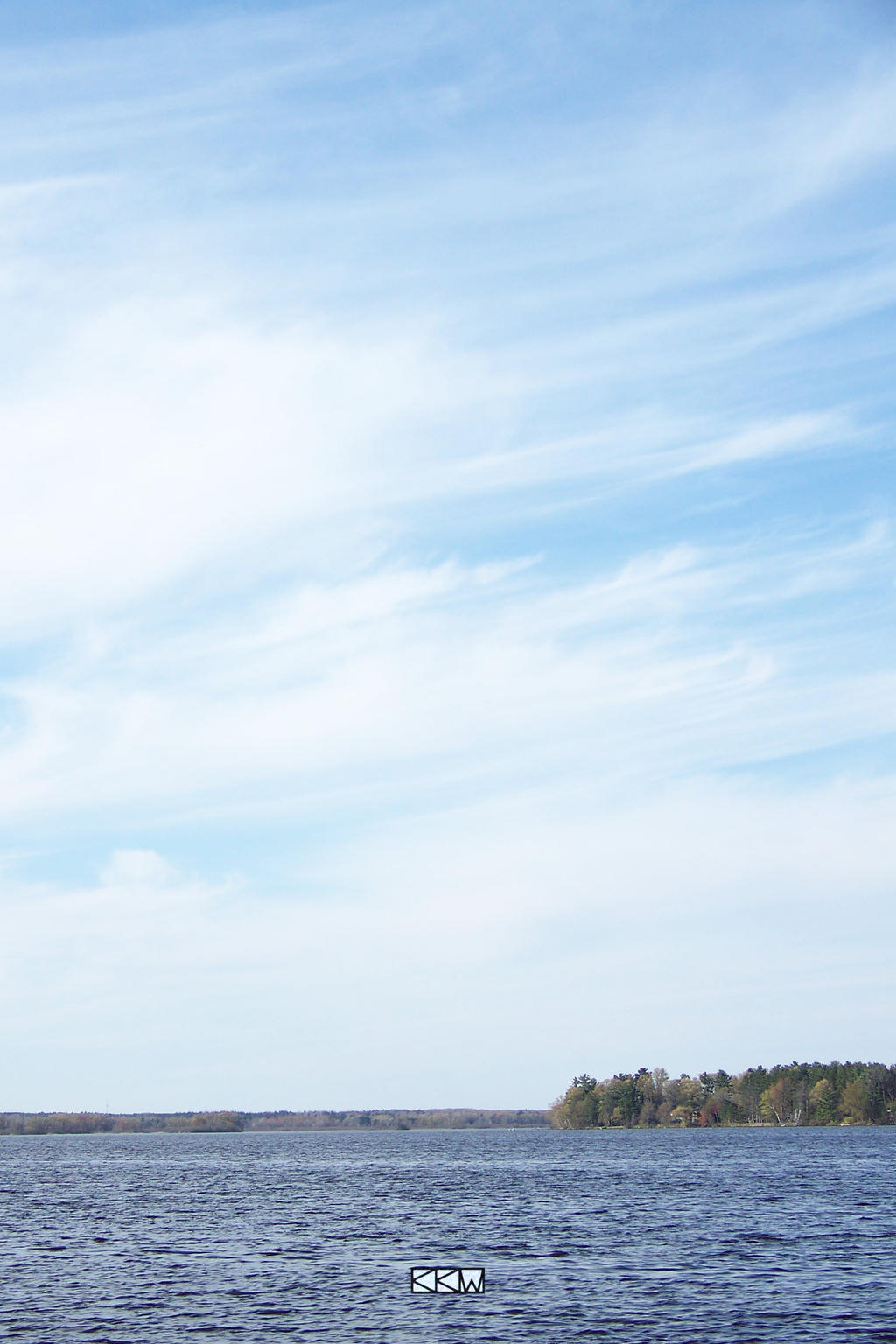 View ofthe WisconsinRiver around StPt 4/24/12 5:04 by Crigger