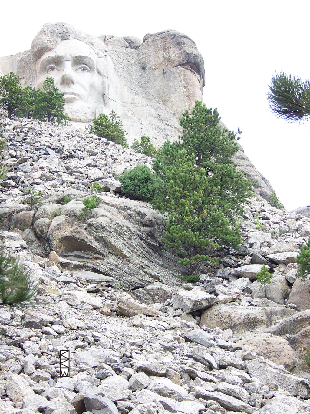 Lincoln at Mount Rushmore, SD, 8/23/2013 09:29AM by Crigger
